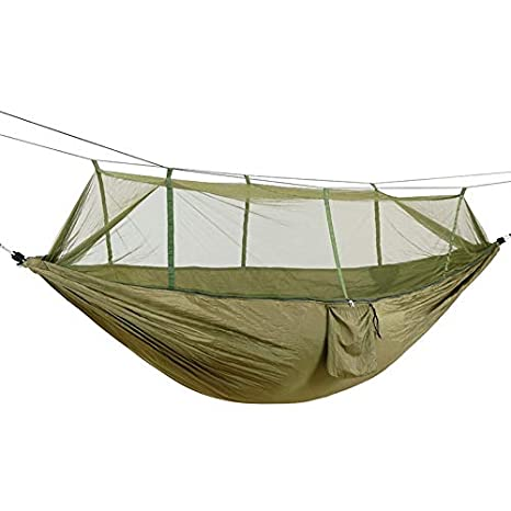 Outdoor Camping Mesh Hammock Portable Sleeping Bed Hang Net For Camping Hunting Hiking Garden Travel Furniture Camping & Hiking