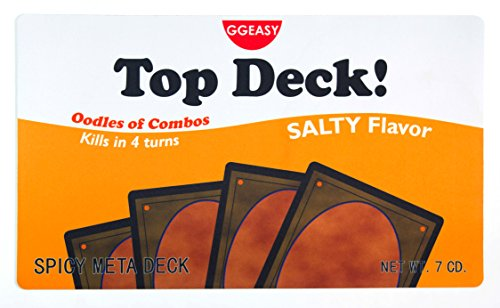 Inked Playmats Top Deck Playmat Inked Gaming Perfect for MtG Magic the Gathering TCG Game Mat by Inked Playmats
