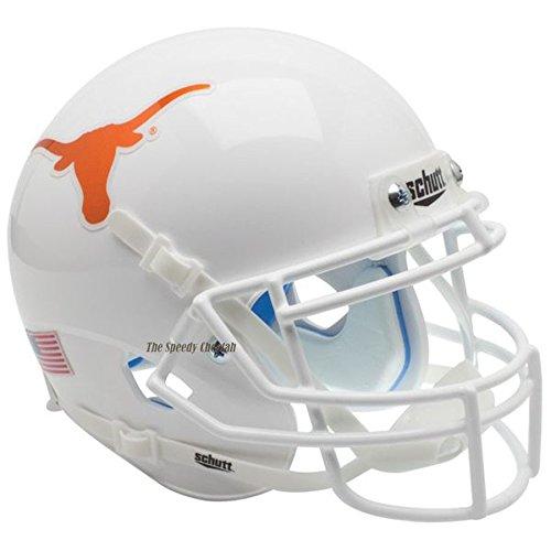 (Texas Longhorns Chrome Decal Officially Licensed Full Size XP Replica Football Helmet)