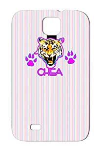 Art Design Awesome Sexy Pink Illustration Fashion Lion Hot Love Blue TPU Purple For Sumsang Galaxy S4 CHEA Protective Case