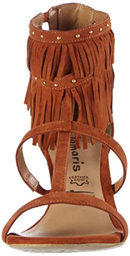 Tamaris Brick 544 28346 26 Orange 1 Damen 1 Offene 544 Sandalen PIrvrz