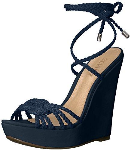 SCHUTZ Women Macarena Wedge Sandal Sailfish