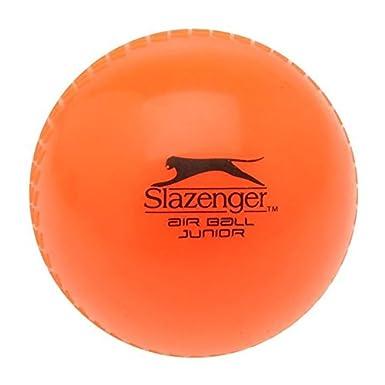 Slazenger Air Ball - Orangefarbener Trainingscricketball für Trainingseinheiten im Garten
