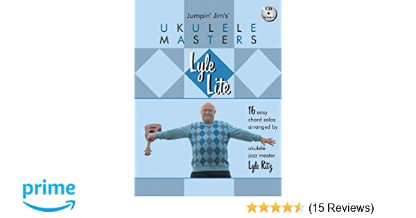 Amazon Lyle Lite 16 Easy Chord Solos Arranged By Ukulele Jazz