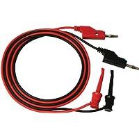 Elenco TL-12 Juego de cables de prueba con conector tipo banana a punta minigrabber