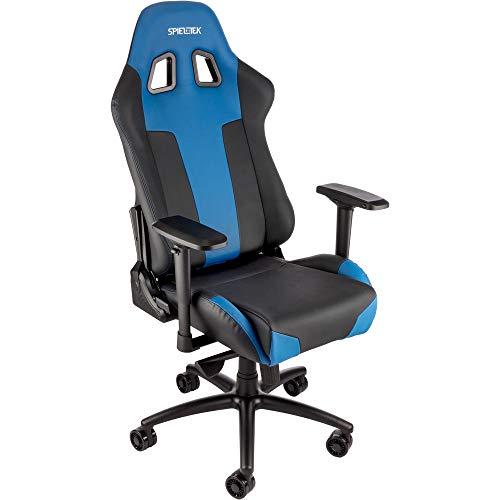 Spieltek Bandit XL Gaming Chair V2 (Black/Blue) Spieltek