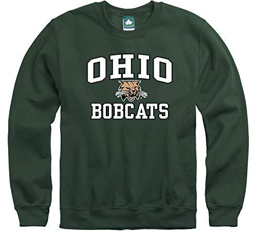 Ohio University Halloween Events (Ivysport Ohio University Crewneck Sweatshirt, Legacy, Hunter Green,)