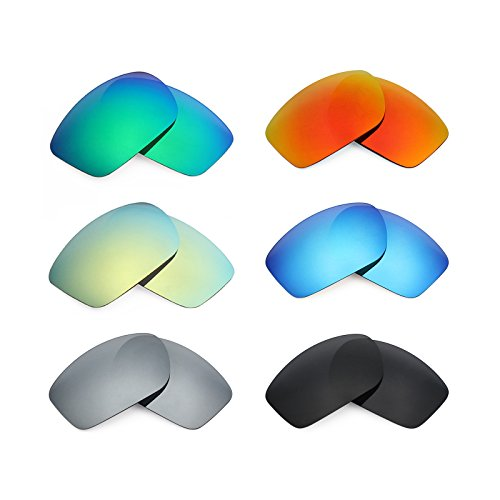 0873ca8473a Mryok 6 Pair Polarized Replacement Lenses for Oakley Valve New 2014 Sunglass  - Stealth Black