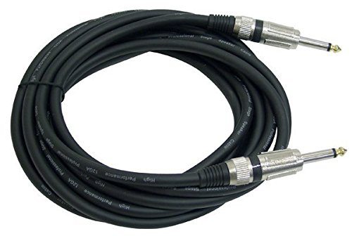 Pyle-Pro PPJJ15 12 Gauge Professional Speaker Cable 1/4'' to 1/4'' - 15 Feet
