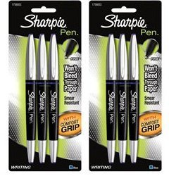sharpie pens blue - 9