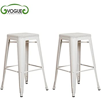 Amazon Com Vogue Furniture Direct Barstool 30 Quot Backless