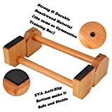 PreGymnastic Wooden Parallettes (Set of 2), for