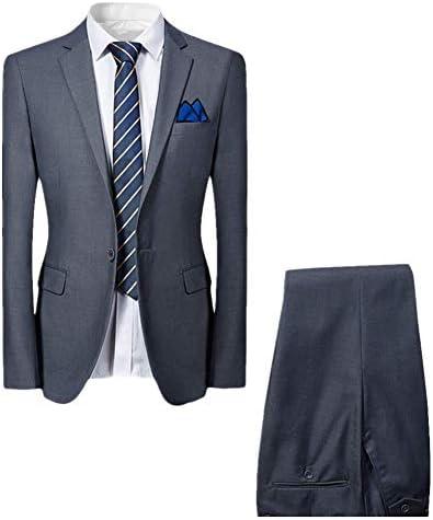 ツーピース メンズ スーツ 細身 サラリーマン/花婿 ビジネス 成人式 上下