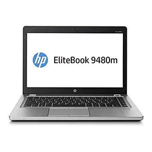 Renewed  HP EliteBook Folio 9480M Laptop  Core i5 4th Gen/4 GB/500 GB/WEBCAM/14''/DOS  Laptops