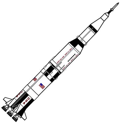 Dr Zooch Saturn V (11) Flying Model Rocket Kit (F Engine Rocket)
