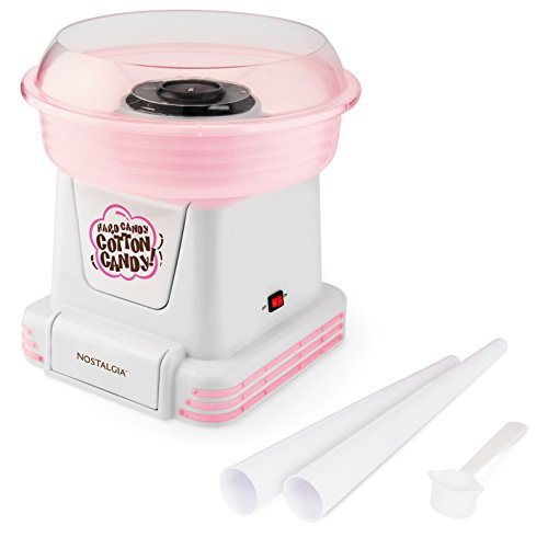Candy Floss (Nostalgia PCM805 Hard & Sugar-Free Candy Cotton Candy Maker)