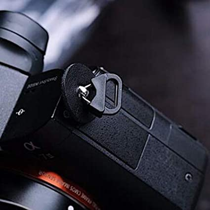 Futheda Lot de 4 Anneaux de Fixation pour Appareil Photo Reflex num/érique avec /œillet de Protection en Plastique