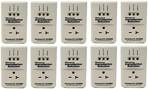 10 Pack AC 220v Surge Brownout Voltage Protector 3600 Watts Freezer New Model