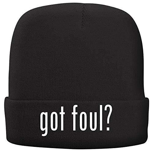 BH Cool Designs got Foul? - Adult Comfortable Fleece Lined Beanie, Black ()