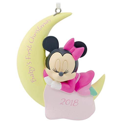 Hallmark Disney Minnie Mouse Babys First Christmas 2018 Ornament