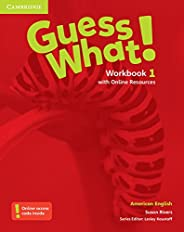 Guess What. 1 - Workbook With Online Resources - American English