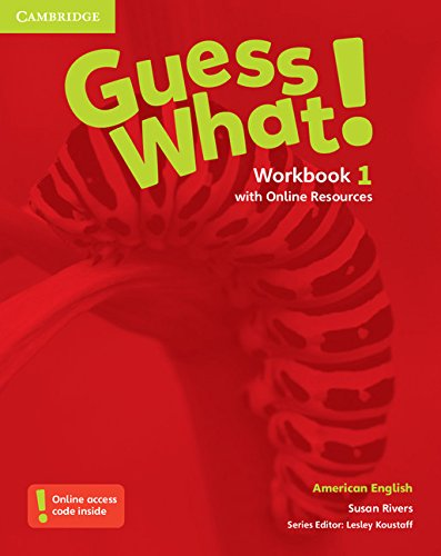 Guess What! American English Level 1 Workbook with Online Resources