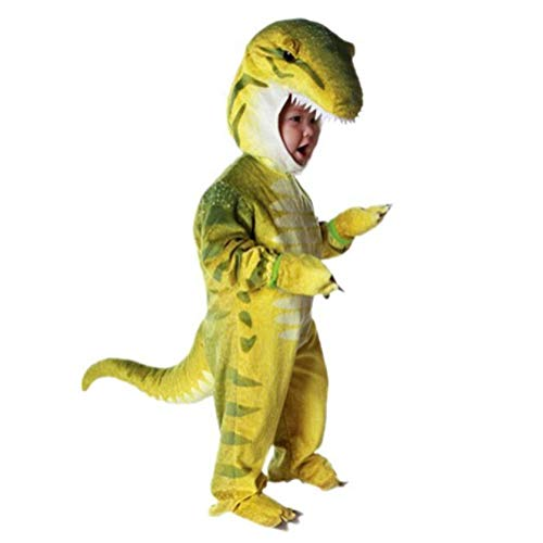 NoveltyBoy Toddler T-Rex Dinosaur Costume Baby's Triceratops Cosplay Jumpsuit ()