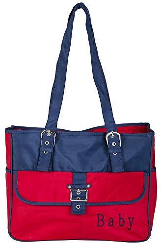 Babysafehouse Baby Diaper/Nappy Changing Bag for Mothers  Red