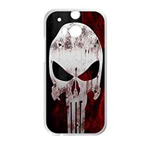 SKULL punisher Phone Case for HTC One M8