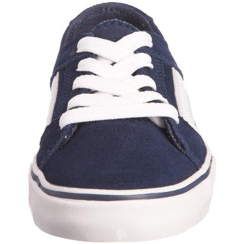 Etnies 4301000081 , Unisex-Kinder Skateboardschuhe, Blau (navy/white), 28 EU