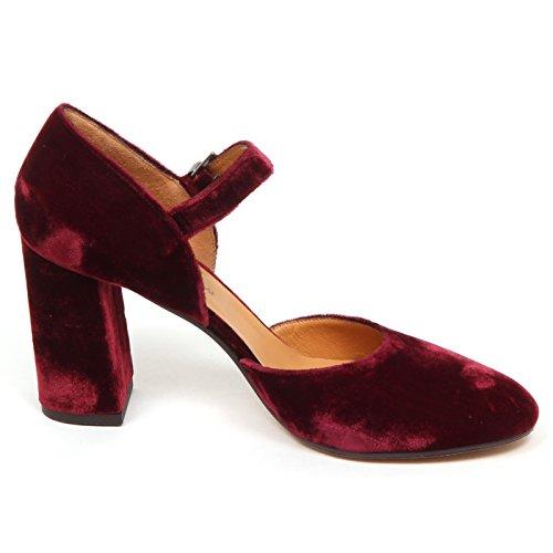 Sciarpa velluto Maliparmi E6490 Decollete Velluto scarpa donna bordeaux in Donna BOSwtxFXwq