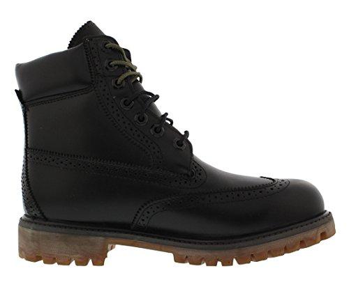 Timberland 6 Brogue Laarzen Heren Schoenen Maat Zwart