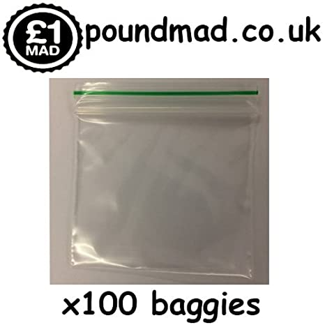 100 bolsas de plástico con cierre de cremallera, 50 x 50 cm ...