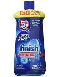 Finish Jet-Dry Rinse Aid, 23oz, Dishwasher Rinse Agent & Dryi...