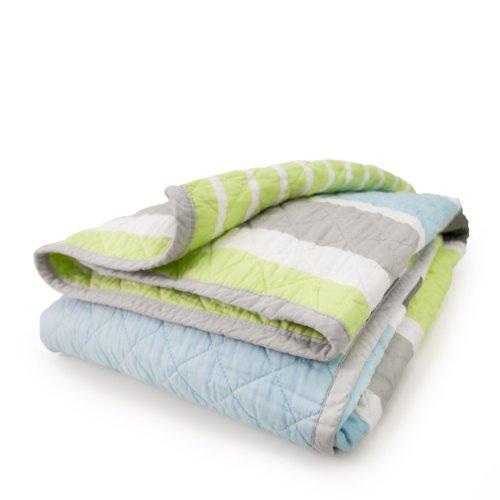 CoCaLo Mix & Match Deck Stripe Coverlet, Julian (Discontinued by Manufacturer)