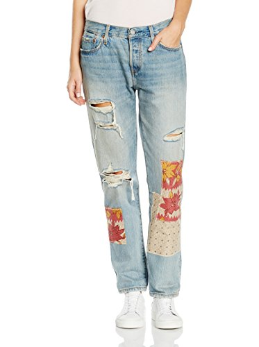 Jeans lavado Mujer 501 Levi's Azul Tapered Para gWExHYq