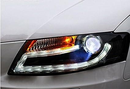 Amazon Com Gowe Car Styling For Audi A4 B8 Headlights 2009 2012 A4l