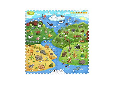 Creative Baby I-Mat Set with Voice Pen, My Animal World (Discontinued by Manufacturer)