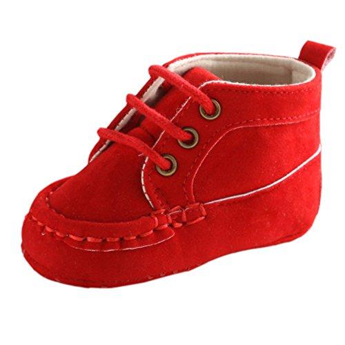 Leap FrogLace Up Sneaker - zapatillas de cordones para niño Red