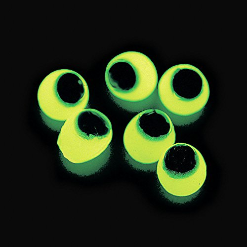 Halloween Costume Prizes For Adults (Glow in the Dark Sticky Eye Eyeballs Party Favors - 60 pieces)