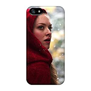 Iphone 5/5s Case Cover Skin : Premium High Quality Amanda Seyfried In Red Riding Hood Case
