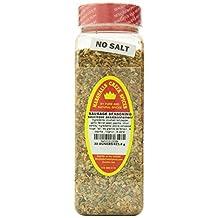 Marshalls Creek Spices Seasoning, Sausage, No Salt, XL Size, 22 Ounce