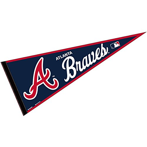 (WinCraft Atlanta Braves MLB Large Pennant)