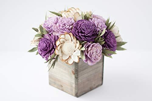 Purple Keepsake Sola Flower Arrangement
