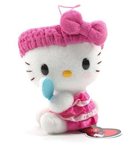 Eikoh Hello Kitty Fresh Bath Time Plush Strap - 5' Pink Brush