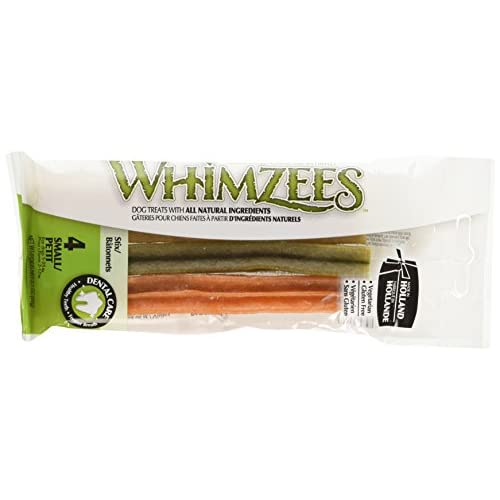 hot sale 2017 Whimzees WHZ716 4 Count Stix Flow Wrap Doggie Dental Chews, Small