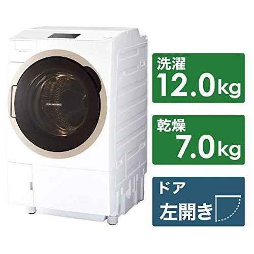 東芝 ドラム式洗濯乾燥機 ZABOON TW-127X7L-W