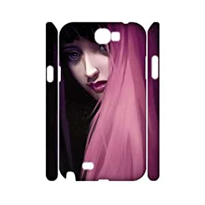 BLACCA Phone Case Of Boys and girls, cold For Samsung Galaxy Note 2 N7100