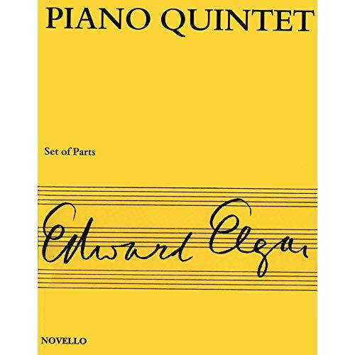 Elgar, Edward - Piano Quintet in a minor, Op. 84 - Two Violins, Viola, Cello, and Piano - Novello Ed