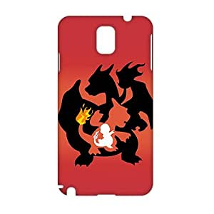Angl 3D Case Cover Cartoon Pikachu Pokemon Pocket Monsters Phone Case for Samsung Galaxy Note3